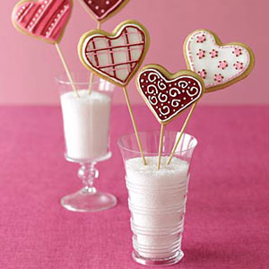 Valentine Day Cookie Bouquets Recipe