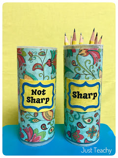 Sharp & Not Sharp Pencils