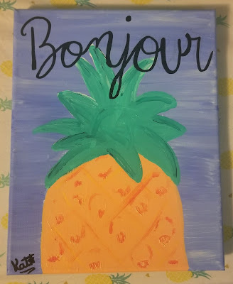 PIneapple on the Virtual Refrigerator  - share your art posts on our Virtual Refrigerator - an art link-up hosted by Homeschool Coffee Break @ kympossibleblog.blogspot.com