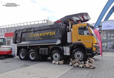 Volvo FMX 540, KH-KIPPER, AUTOSTRADA-POLSKA 2017