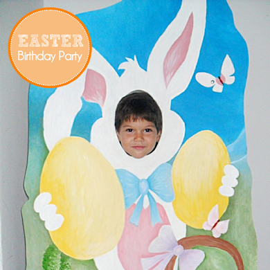 A Super Sweet Easter Birthday Party