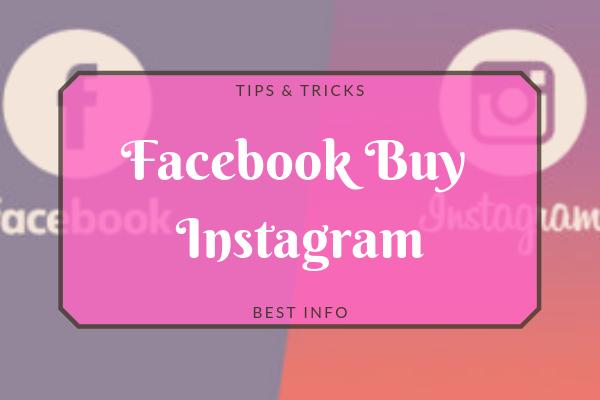 Facebook Buys Instagram<br/>