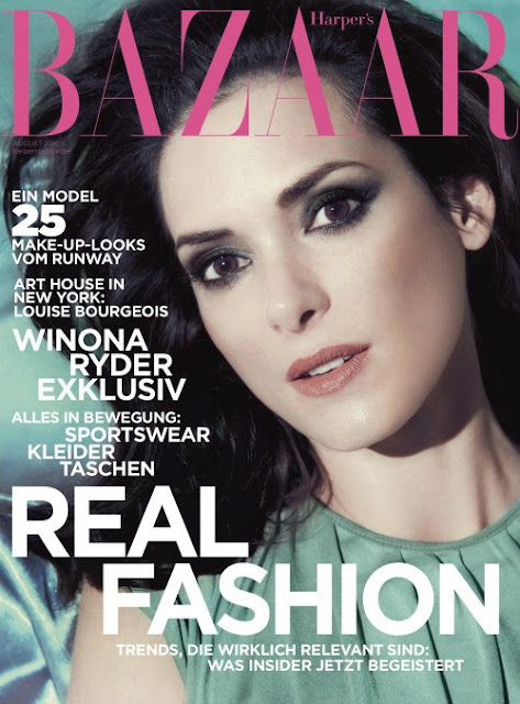 Actress, @ Winona Ryder – Harper's Bazaar Magazine Photoshoot, July 2016