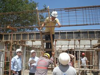 Alunos de Engenharia Civil da UFCG realizam visita técnica às obras de ampliação da Biblioteca em Cuité
