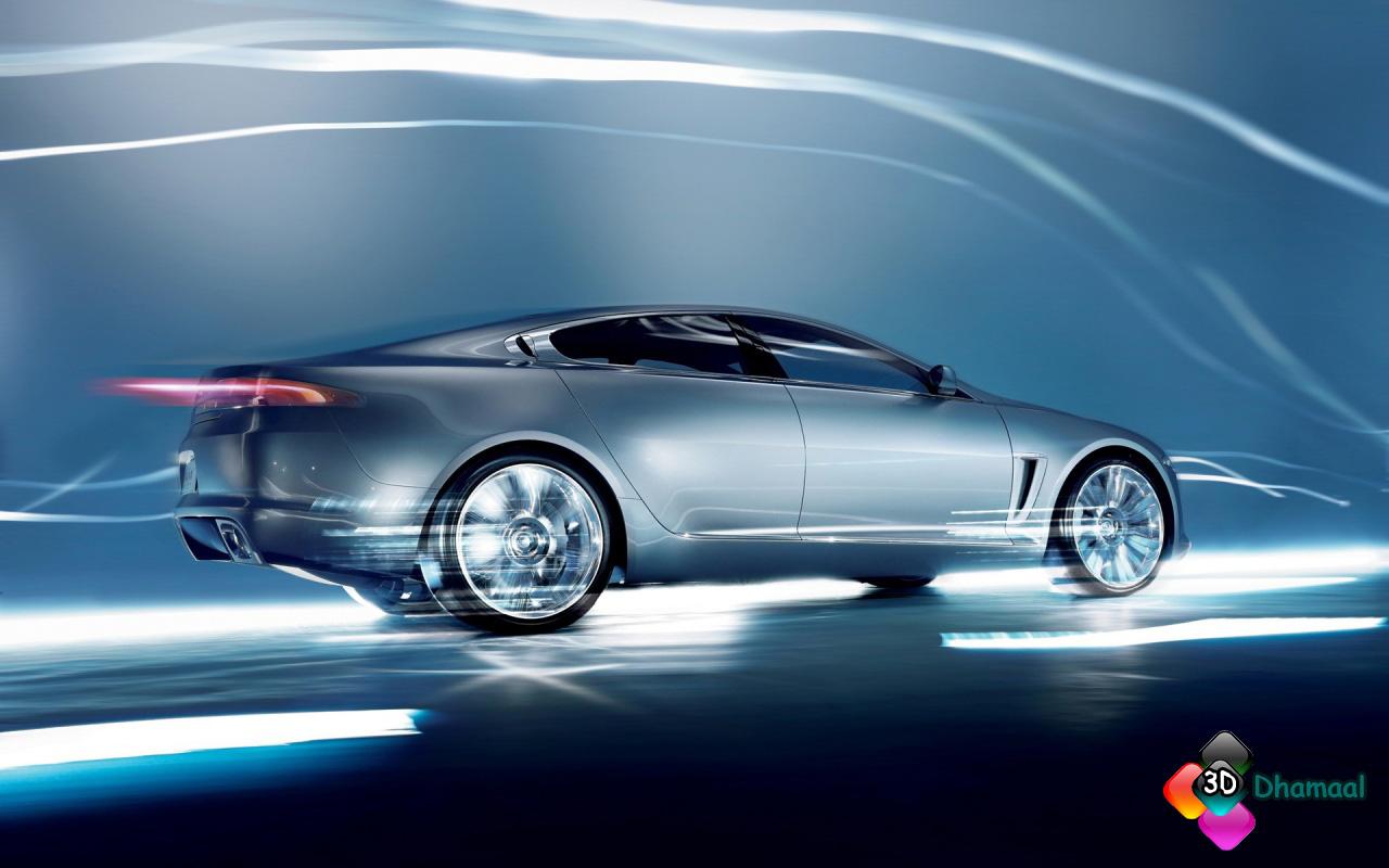 3d Wallpaper Hd Jaguar C X Style Car Wallpaper