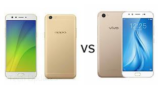 Oppo F3 vs Vivo V5 Plus