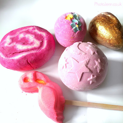 lush-haul-2016-bubble-bar-bath-bomb-comforter-flamingo-golden-egg-think-pink