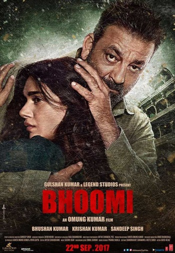 Bhoomi 2017 DVDScr Hindi 300MB