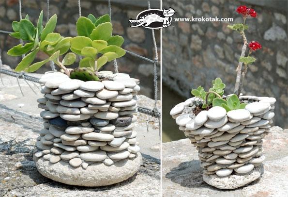 смещение как сделать вазон из камней недорого вставить
