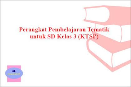 Perangkat Pembelajaran Tematik SD Kelas 3 (KTSP)