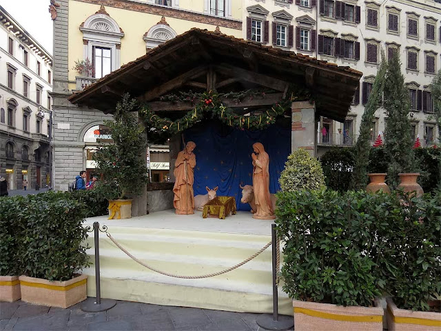 Presepe, piazza del Duomo, Florence