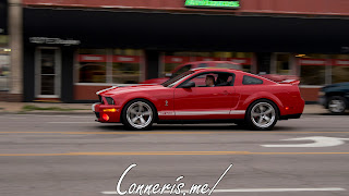 Draggin Douglas Red Ford Mustang GT500 2