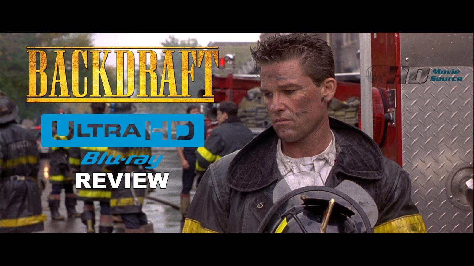 Backdraft (1991) 4K Ultra HD Blu-ray Blu-ray Review