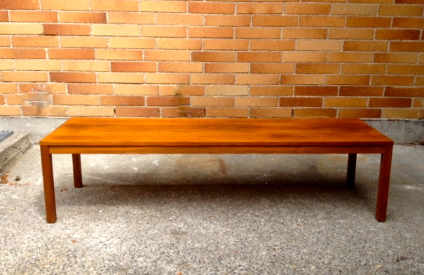 Walnut Mid Century Coffee Table By Lane Alta Vista
