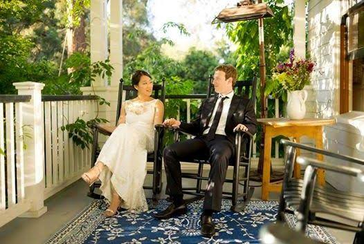Facebook founder, Mark Zuckerberg and his wife, Priscilla celebrate 5th wedding anniversay