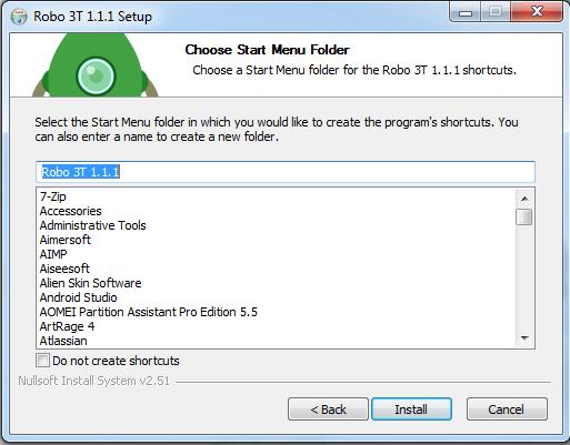 Cara install Robo 3T di windows