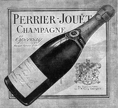 A 1923 Perrier-Jouet Ad