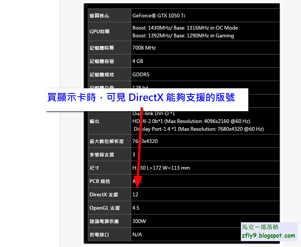 馬克: DirectX 9 / DirectX 9.0c 下載 安裝