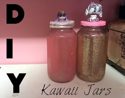 DIY: How to Make Glitter Jars!