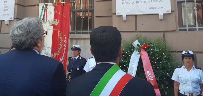Strage di Bologna, ricordate le vittime baresi