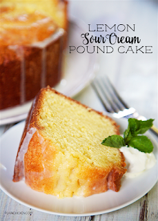 lemon pound cake for fourth anniversary