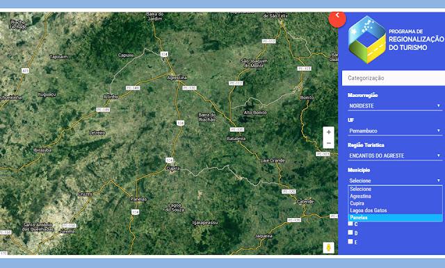 Ministério do Turismo atualizou o mapa do turismo brasileiro