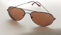 brown aviators from perfect glasses