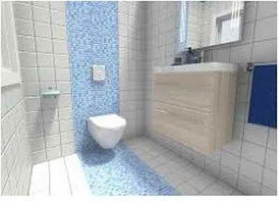 Tips Small Bathroom Dark Floor Light Walls