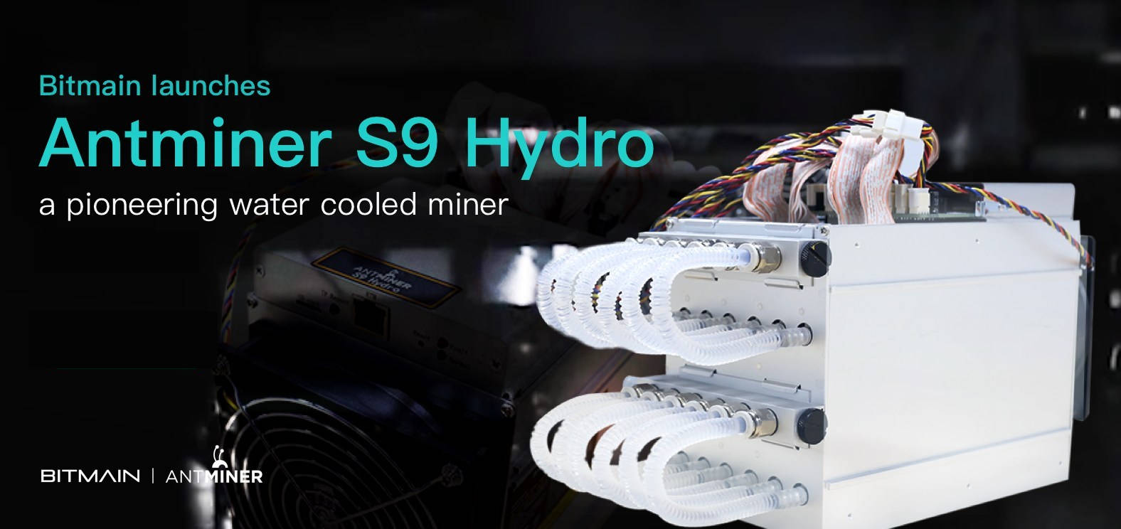 Antminer S9 Water Cooling Antminer S9s