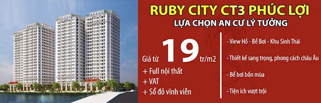 Dự án Ruby City Ct3 Long Biên