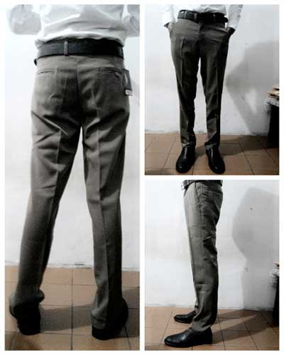 Celana Bahan Slim Fit