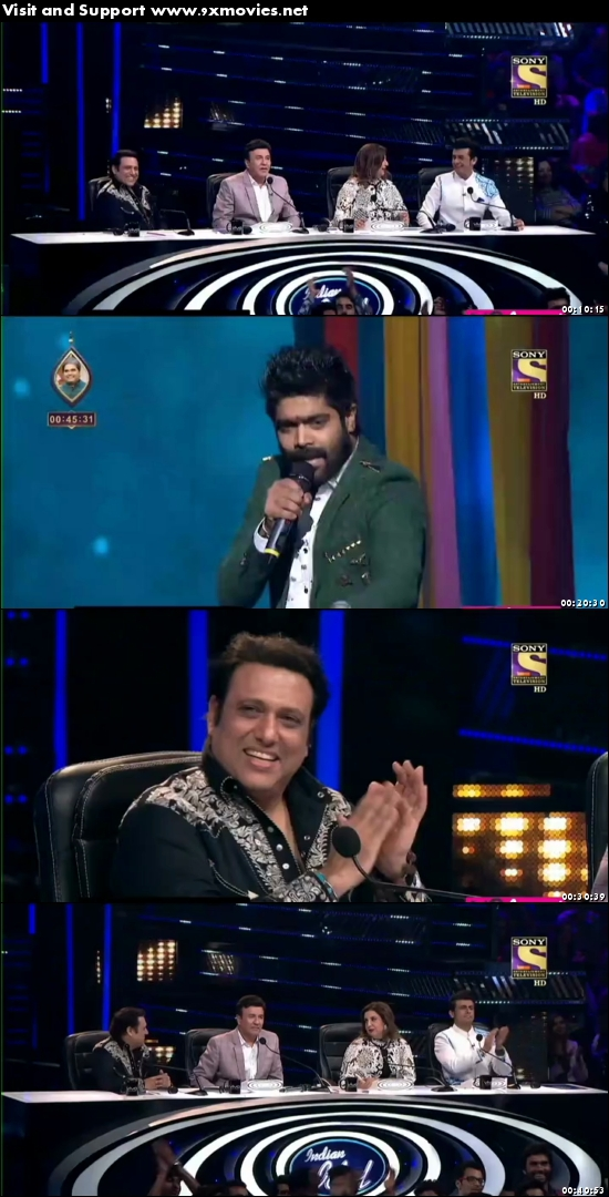 Indian Idol 26 Feb 2017 HDTV 480p