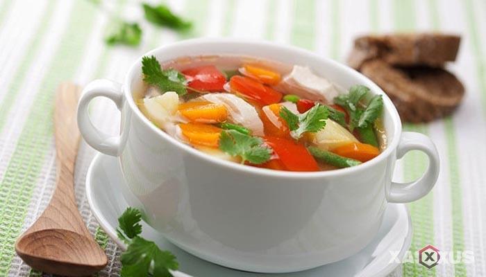 Resep cara membuat sayur sop tahu