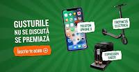 Castiga 1 iPhone X + 1 Trotineta Ninebot by Segway + 1 Espressor Saeco + altele