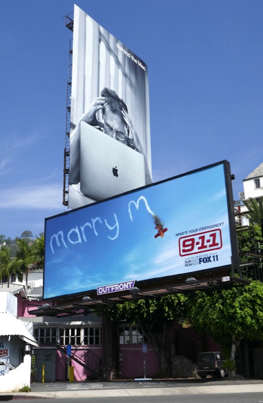 911 season 2 Marry M billboard