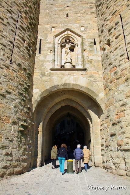 Puerta de Narbona, Carcassonne