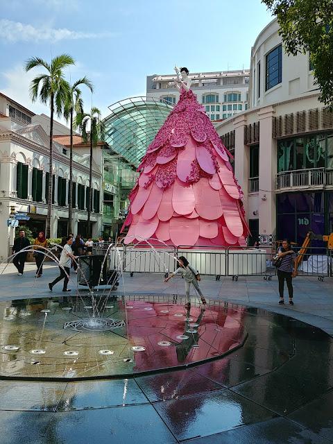 Xmas fairy, Christmas decoration, Bugis Junction, Singapore