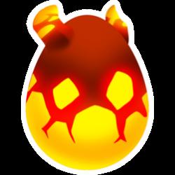 Appearance of Fervor Dragon when egg