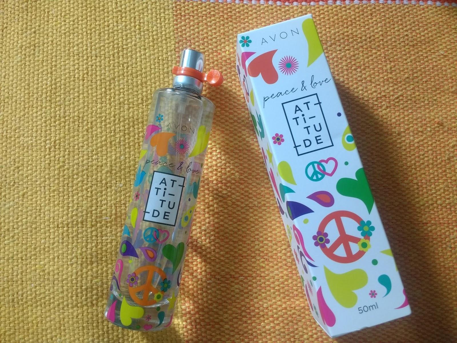Alquimia Dos Perfumes Peace Love Attitude Avon