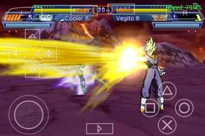 Dragon Ball Z Shin Budokai 4 ISO PSP Game Android