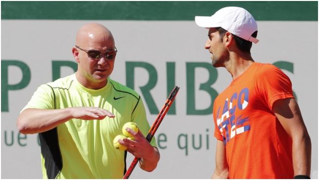 Andre Agassi To Coach Djokovic At Wimbledon, Staying as long as Djokovic Progresses
