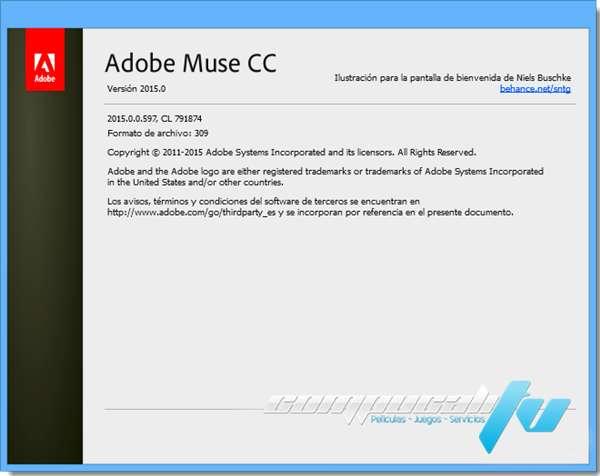 Adobe Muse CC 2015.0 Full Español