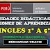 Unidades de Didácticas y Sesiones de Aprendizaje INGLES de 1º a 5º Currículo Nacional