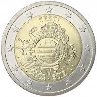 2e kolikko eesti 2012