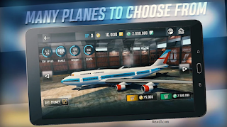 Flight sim 2018 APK MOD money Unlimited+obb Data