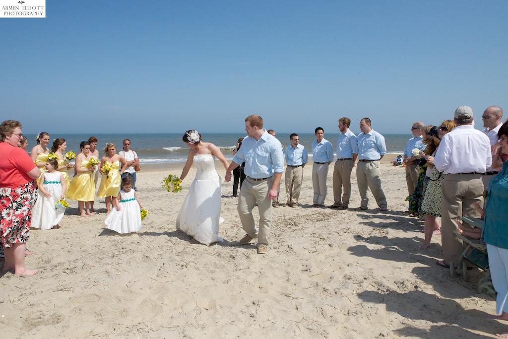 Ocean City Beach Wedding: Armen Elliott Photography: Beach Wedding In Ocean City