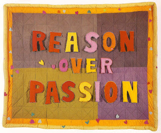 Reason Over Passion by Joyce Wieland, 1968