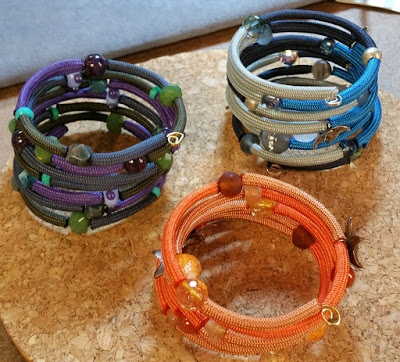 Beads Baubles & Jewels episode - make these wrap bracelets