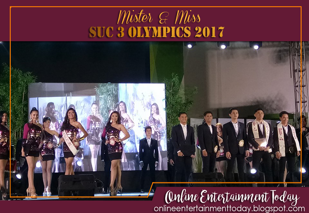Mister and Miss SUC 3 Olympics 2017 Crowned - Online