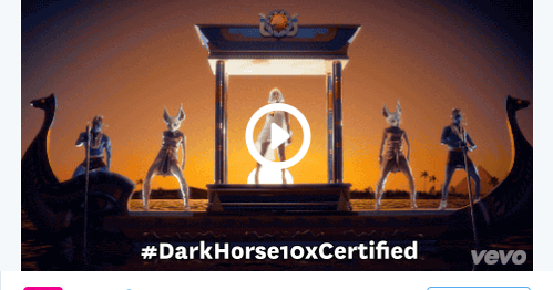 PM's Music World: Dark Horse Hits 1 Billion Views On Vevo
